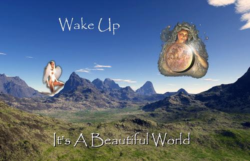 It's A Beautiful World by newilluminati.