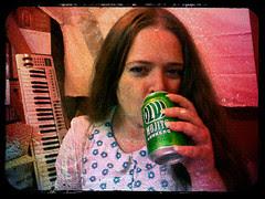 My 40th birthday drink - Olvi Mojito Lonkero