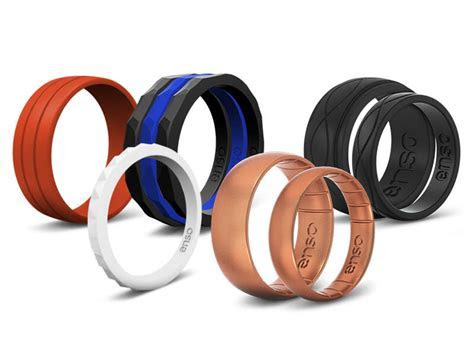 Enso Silicone Wedding Bands   Shark Tank Products
