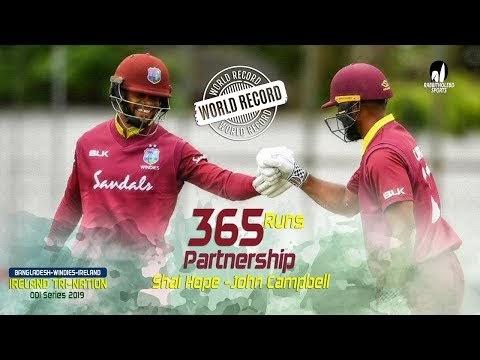 Highest Partnerships in ODI | Top Partnerships in ODI