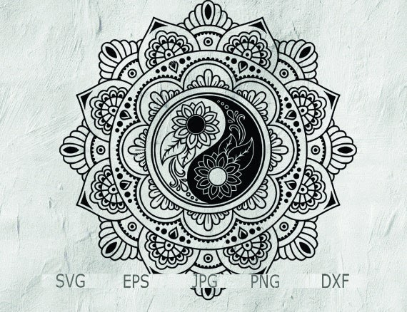 39 yin und yang mandala  besten bilder von ausmalbilder