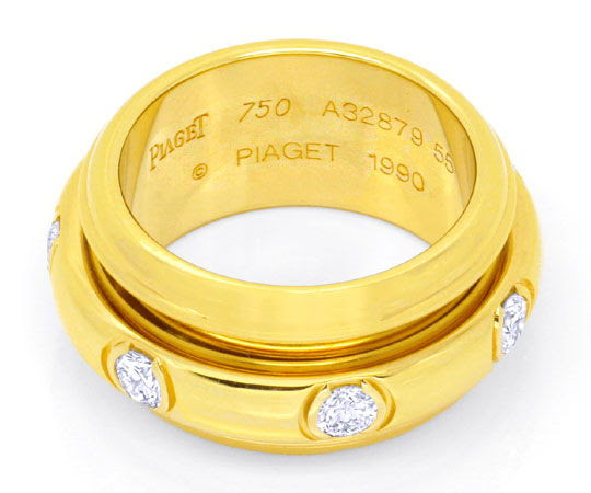 Original-Foto 3, PIAGET SPIELRING POSSESSION, GELBGOLD, DIAMANTEN LUXUS!