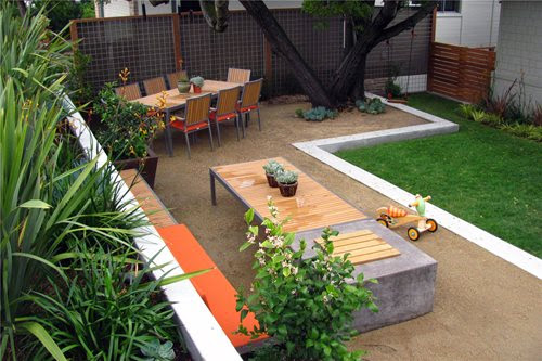 Modern landscaping ideas for backyard