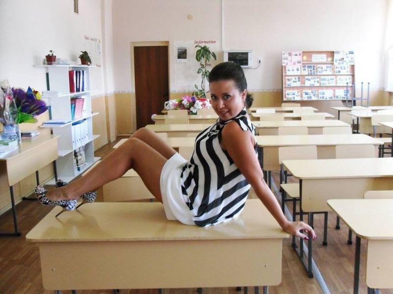 Единственная причина, по которой мне хотелось бы вернуться в школу - некоторые учительницы девушки, учительницы, школа
