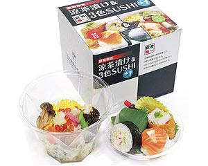 2007 夏 - 涼茶漬け & 3色SUSHI+1