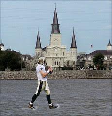 Breesus walks on water