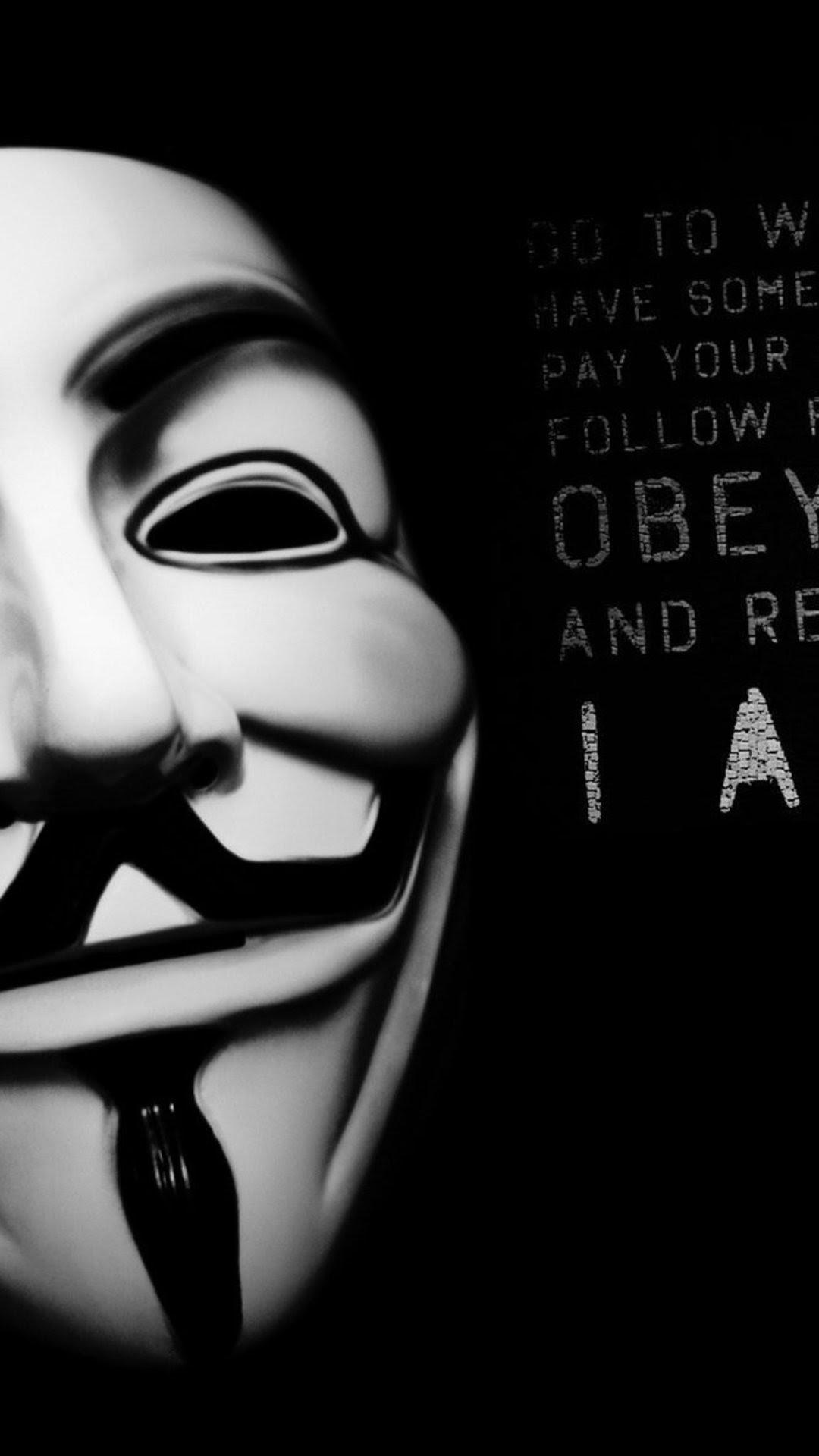 40 Gambar Keren Topeng Anonymous Gratis Terbaru