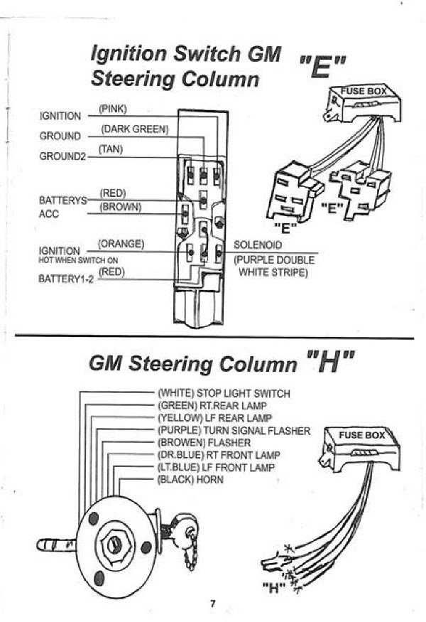Wiring Diagram Gm Ignition Switch