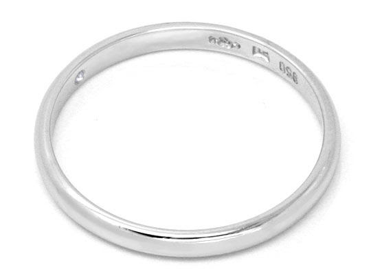 Original-Foto 3, ORIGINAL NIESSING DIAMANTRING PLATIN, BRILLANT SHOP NEU