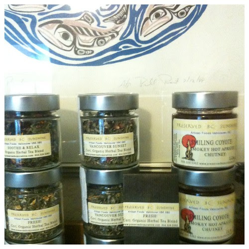 Organic Tisanes by Preserved BC Sunshine