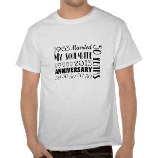 Soulmate 50th Wedding Anniversary Tee Shirt   Parent's