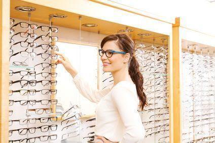 gafas con dioptrías de miopía