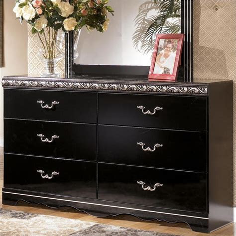 ashley furniture constellations black bedroom