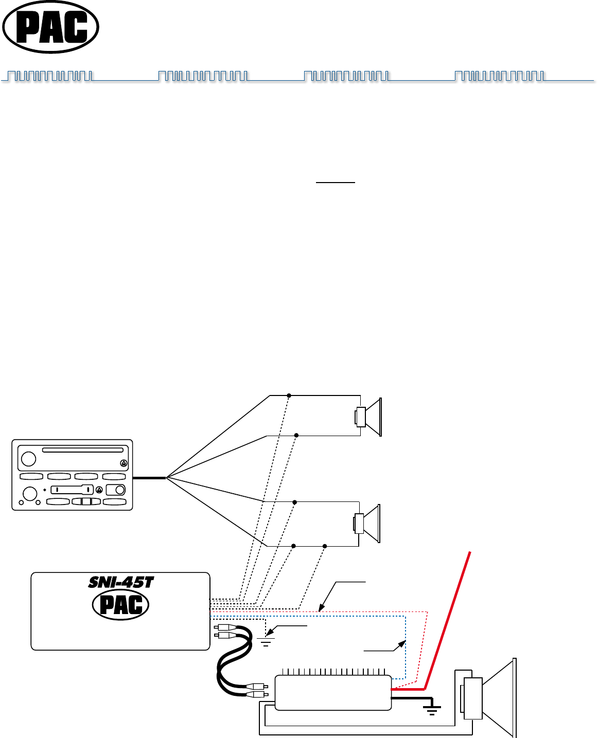 Pac Line Output Converter Wiring Diagram