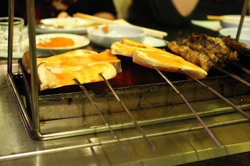 Mushroom Kebabs at Feng Mao