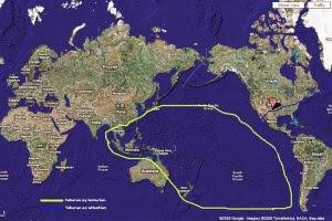 lokasi benua Atlantis yang hilang