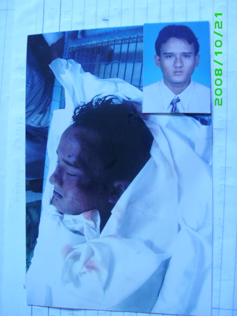Photo: ARRC: Raid killed a Rohingya in Salayang)