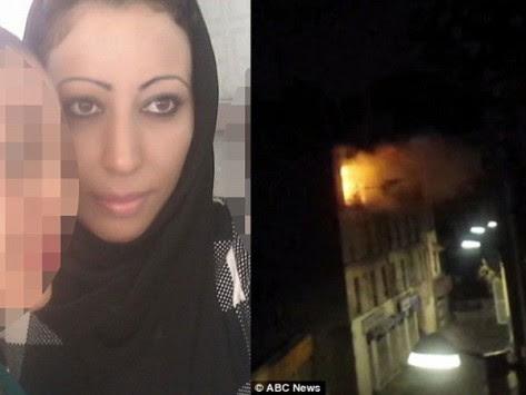 Παρίσι: Η στιγμή που ανατινάζεται η γυναίκα καμικάζι (VIDEO)