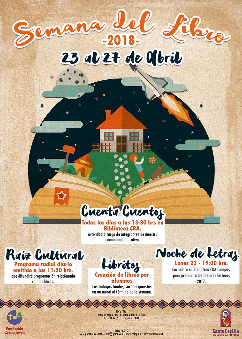 Semana Del Libro 2018 Actividades Campus Colegio Artistico Santa