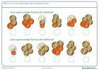 Ficha de interpretar monedas en la que hay que marcar la opción que represente la cantidad de dinero indicado.