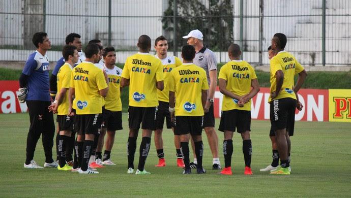 ABC - treino coletivo - Frasqueirão - Gilmar Dal Pozzo (Foto: Diego Simonetti/Blog do Major)