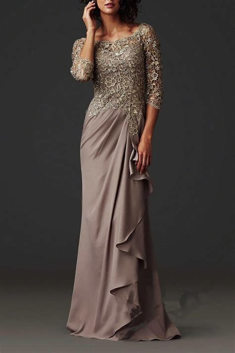 Hot Sale Evening Dresses 2015 Lace Sheer Mother of the