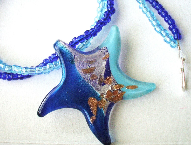 Pretty Starfish Necklace