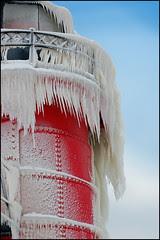 frozen drapery