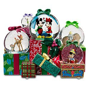 ''From All of Us to All of You'' World of Disney Snowglobe -- 5-Pc