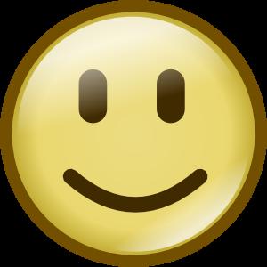 Glossy Emoticons Clip Art