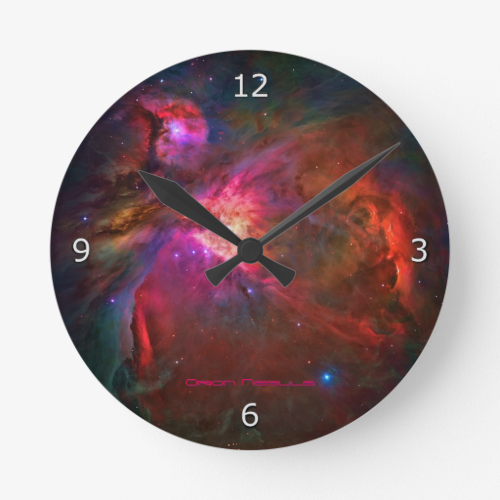 Orion Nebula and Trapezium Stars Clocks