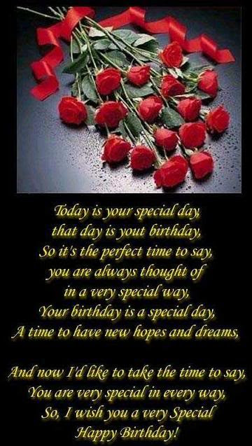 Today Is Your Special Day Birthday Quote Quotespicturescom