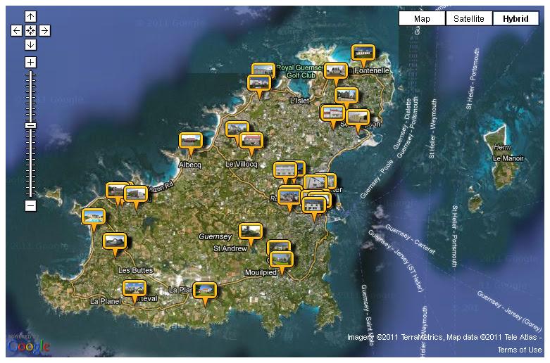 Google Maps Mashup For Property In Guernsey  C2 B7 Freelance