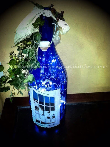 Lighted Wine Bottle Crafts