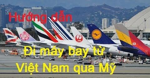 Ði máy bay từ Việt Nam qua Mỹ vào dịp lễ Noel