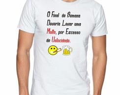Camiseta Preta Engraçada Elo7