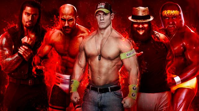 John Cena podczas SummerSlam Panel Series, czyli w dniu poznania pełnego rosteru WWE 2K15