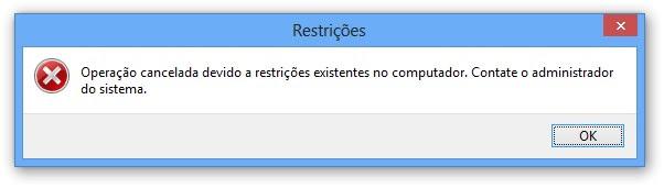 Programa bloqueado