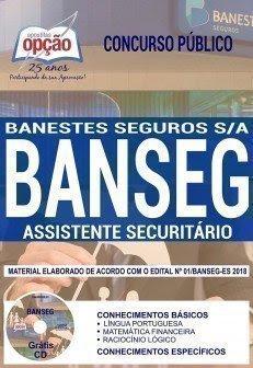 Apostila Concurso BANSEG 2018 | ASSISTENTE SECURITÁRIO