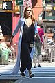 jessica alba shows off her growing baby bump in nyc 05