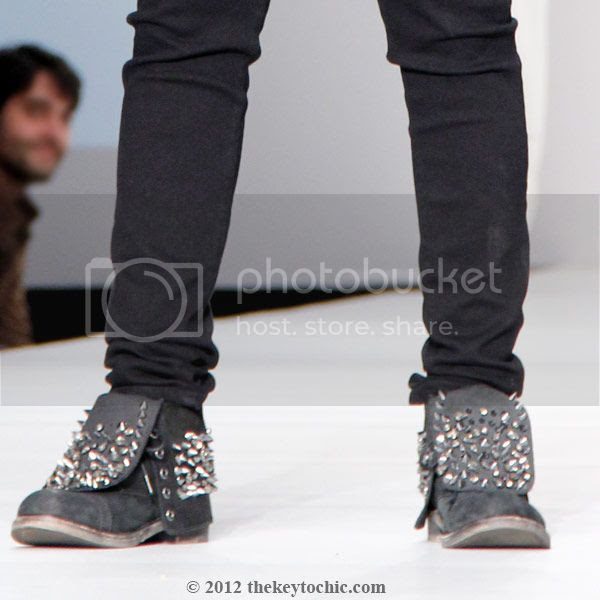 studded boots, Mikey Koffman style