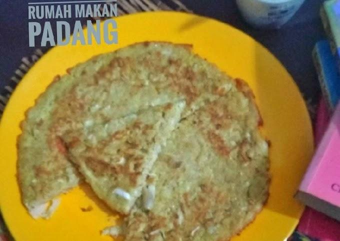 Resep Membuat Telur Dadar Ayam ala Rumah Makan Padang Tiada Duanya