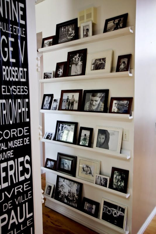 15 Ideas To Display Your Family Photos At Home Pretty Designs