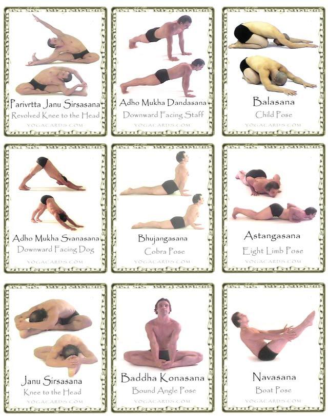 Yoga Pose Cards