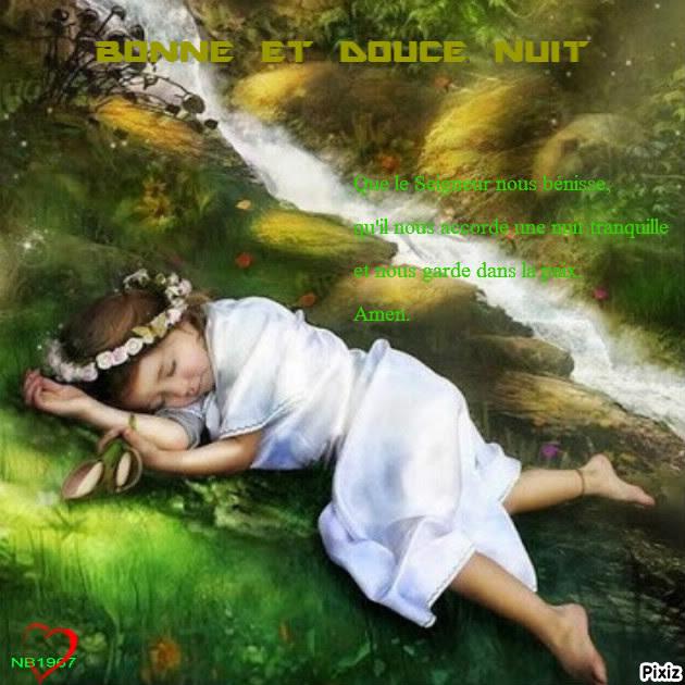 Bonne Et Douce Nuit Sous La Protection Du Seigneur Jésus