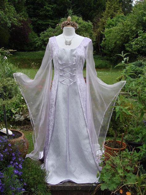 Bespoke one off mauve fairy elven renaissance medieval