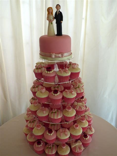 Shabby Chic Wedding Cupcake Tower « Susie's Cakes