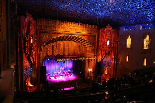 Oakland Fox Gala: Fox Stage and Main Room From Second Level