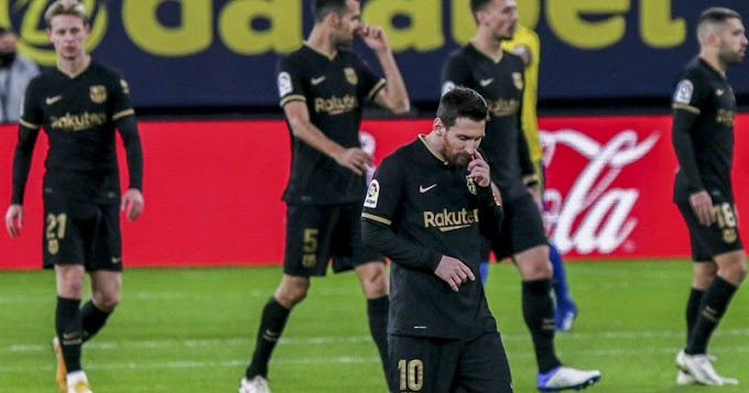 Barcelona struggle continues as they are yet to win a game after conceding first this season