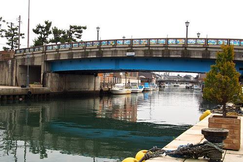 新湊内川 神楽橋